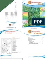 2014 Summertime Booklet