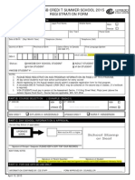 Summer School Credit Registration and Information Pkg FILLABLE