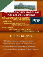 Mendiagnosis Masalah