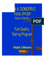 Fuel Presentation