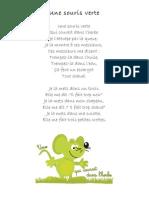 une souris verte - paroles