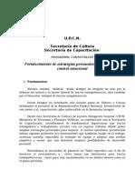 Upcn PROGRAMA Fortalecimiento de Estrategias