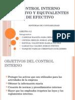 Control Interno.efectivo Pptx