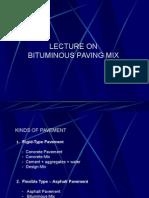 2. Bituminous Mix Lecture