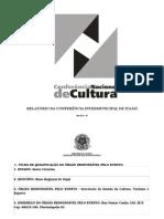 1f Relatório Da Conferência - Itajaí
