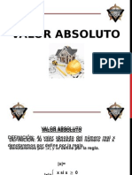 Valor Absoluto StivenVALOR ABSOLUTO Stiven