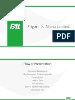 Frigorifico Allana Limited