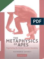 Raymond Corbey - The Metaphysics of Apes