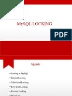 9)Locking in Mysql
