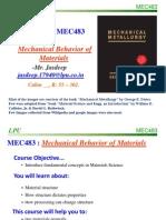 Lecture 0 MEC483