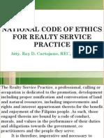 Rdc Code of Ethics