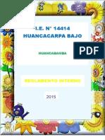 Reglamento Interno 2015