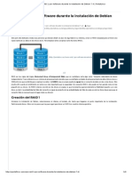 Crear RAID 1 Por Software Durante La Instalación de Debian 7