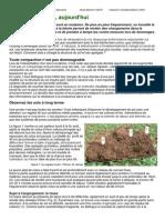 """Article """"Le test à la bêche, aujourd'hui"""" 'Spatendiagnose Heute' Revue Bioland 10-2010"""