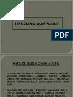 120726 Handling Complain