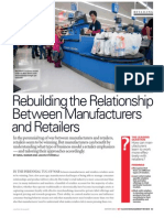 Rebuilding the Relationship Between Manufacturers and Retailers