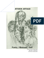 Antonin Artaud - Poetry Madness Self-libre