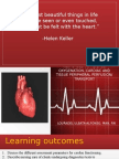Responses to Altered Oxygenation, Cardiac and Tissue- Anatomy to Assessment