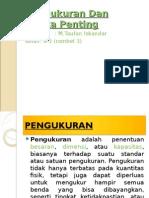 Pengukuran Dan Angka Penting by Taufan Iskandar