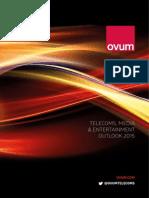 Ovum Telecoms Media and Entertainment Outlook 2015