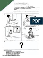 English Form 3 Progresive test paper