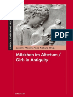 Moraw Girls in Antiquity