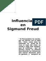 Influencias en Sigmund Freud