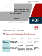 Operation and Maintenance Guide of the BSC6900 GSM Based on the Web LMT -C
