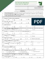 Exame de admissão UEM Matematica 2011