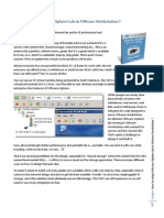 How to Setup VMware VSphere Lab in VMware Workstation