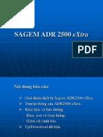 Bao Cao Sagem Adr 2500 Extra