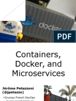 Containers, Docker and Microservices