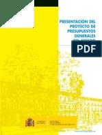 PRESUPUESTOS GENERALES DEL ESTADO 2016