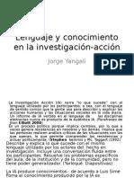Lenguaje y Conocimiento en La Investigación-Acción