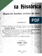 Informe del Licenciado Polo de Ondegardo al Licenciado Briviesca de Muñatorres sobre la perpetuidad de las encomiendas en el Perú (1561)