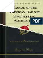 Manual of the American Railway Engineering Association 1000116669