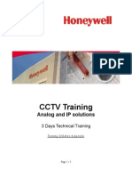 CCTV Training Agenda