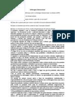 Arbitragem Internacional 1) Comente as Principais Diferenças