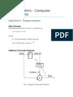 Adaptive Predictor Computer Experiments