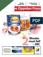 Oppidan Press Edition 7 2015