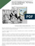 'O Professor' Perante as Instituições de Ensino e a Produção Institucional Da Subjetividade – Por Patrícia Cordeiro e Guilherme Moreira Pires _ Empório Do Direito