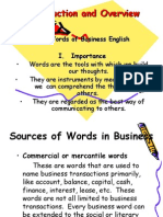Introduction and Overview of Business Correspondence