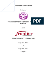2013 Frontier - CWA Agreement 4