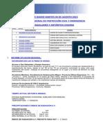 Informe Diario ONEMI MAGALLANES 04.08.2015.