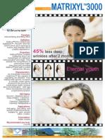 matrixyl 3000 promotional sheet  usa