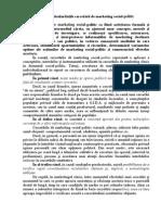 7.Definiţia Şi Particularităţile Cercetării de Marketing Social-politic.