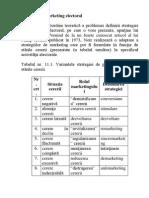 16.Strategii de Marketing Electoral În Funcţie de Stările Cererii (Michel Noir).