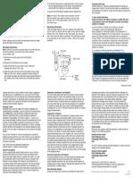 Kill Switch Instruction Sheet