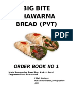 Big Bite Shawarma Bread