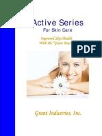 granactive acne brochure